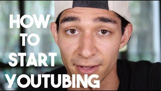 How to Start Youtubing (Vlogging and Youtube Advice)