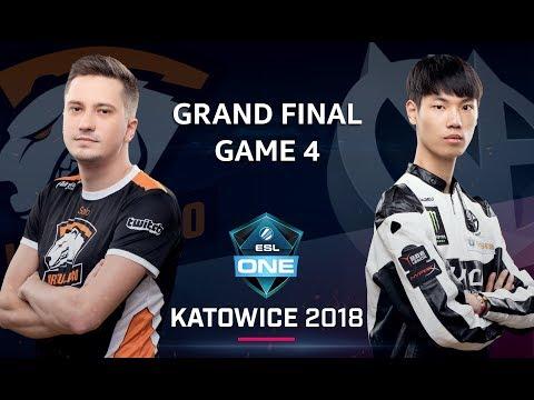 Dota 2 - Virtus.pro vs. ViCi Gaming - GRAND FINAL - Game 4 - ESL One Katowice Major 2018