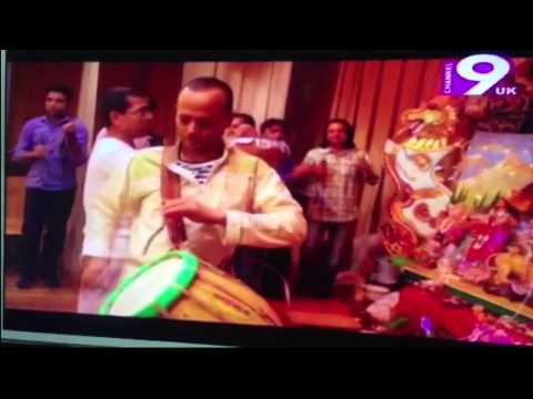 Durga Puja 2013 in Zürich, Switzerland on CH 9 uk News
