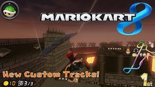 NEW MARIO KART 8 CUSTOM TRACKS!!! CTGP-U Beta 2 Gameplay!