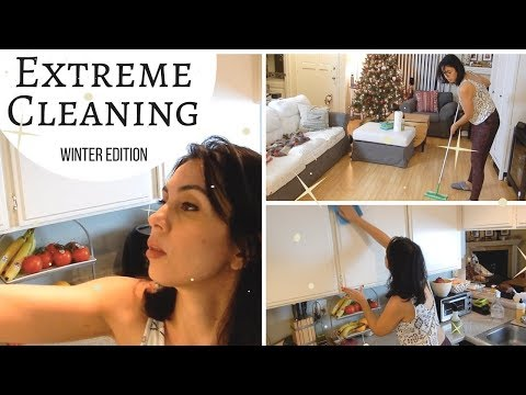 CLEAN MY APARTMENT WITH ME! | EXTREME CLEANING MOTIVATION | SAHM ...