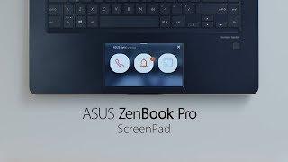 ScreenPad - ASUS Sync | ZenBook Pro 14 & 15