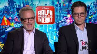 Phil Johnston & Rich Moore Interview - Ralph Breaks The Internet