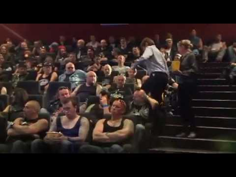 Carlsberg - Stunts with Harley's Bikers in Cinema