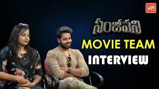 Sanjeevani Movie Team Exclusive Interview - Anurag Dev - Tanuja - Ravi Vide