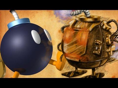 Speedpainting Bob-omb!! By Davide Ruvolo speedpainter!