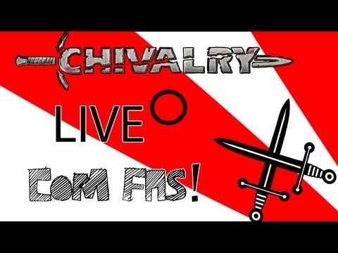 LIVESTREAM *JOGANDO COM FÃS - AGE OF CHIVALRY*