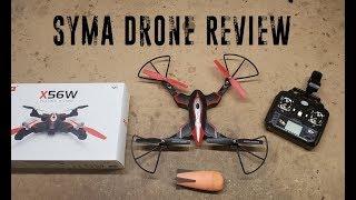 Syma Drone Review and Nerf Weaponization (X56W Drone from DoDoeleph)