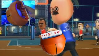 can i beat tommy using a wii basketball