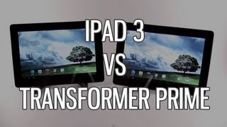 Asus Transformer Prime vs Apple iPad 3 comparison