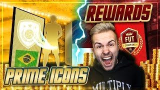 FIFA 18: ELITE 1 REWARDS Pack Opening + GARANTIERTE ICON PACKS 😱