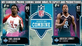 NFL COMBINE PROMO COMING SOON! WHAT TO EXPECT AND PREDICTIONS! | MADDEN 20 ULTIMATE TEAM