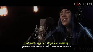 Billie Eilish - When The Party's Over (Sub Español + Lyrics)