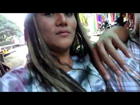 Thailand 2012 Video # 297- Part 9- Beautiful Floating Market, Bangkok