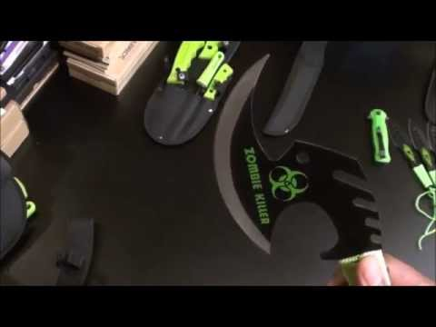 Zombie Killer Knife Collection video