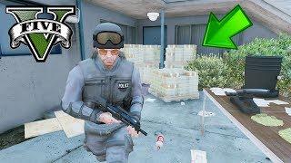 GTA 5 MOD VITA DA SWAT : HO ATTACCATO LA MIA BASE DI MOD VITA DA GANGSTER [Operazione Pericolosa]