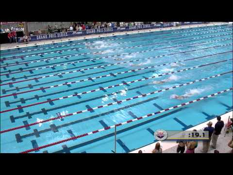 Women's 50m Freestyle B Final - 2012 Columbus Grand Prix