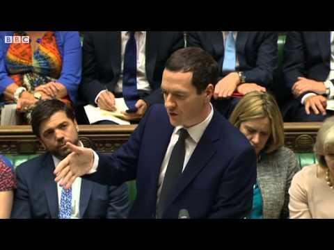 PMQs  Hilary Benn questions George Osborne on extremism