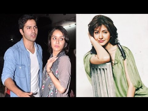 Varun Dhawan was spotted with Shraddha Kapoor, Anushka Sharma mobbed by fans during 'NH10' shoot