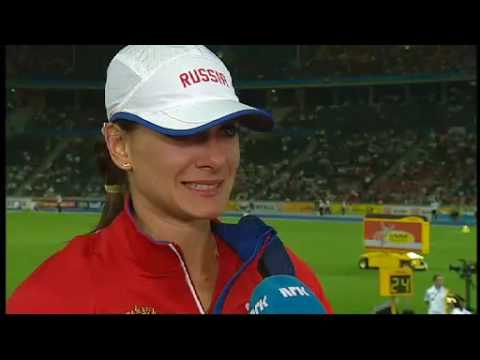 Yelena Isinbayeva: - I don't understand what happened (WC Athletics 2009)
