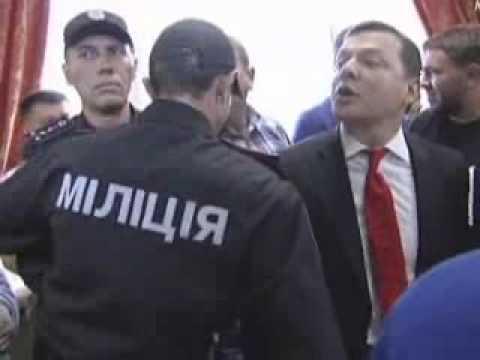 Ляшко назвал прокурора пидарасом в суде