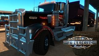 American Truck Simulator: Haulin' wood chips through Yuma AZ