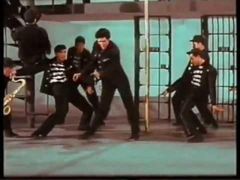 Elvis Presley   Jailhouse Rock (a Color).wmv video