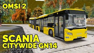 OMSI 2 - Обзор автобуса Scania CityWide GN14