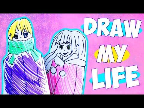 DRAW MY LIFE | НАША СОВМЕСТНАЯ ИСТОРИЯ
