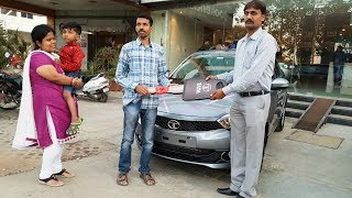 Taking Delivery of Tata Tiago Automatic Special Color|Exterior,Interior&Driving 4K 60FPS Video