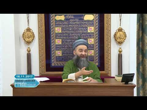 Cübbeli Ahmet Hoca ile Kavâidü-l Akâid Dersleri 5. Bölüm 16 Kasım 2017