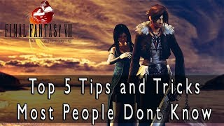 Final Fantasy VIII HD Remaster - Top 5 Tips and Tricks Most People Dont Know