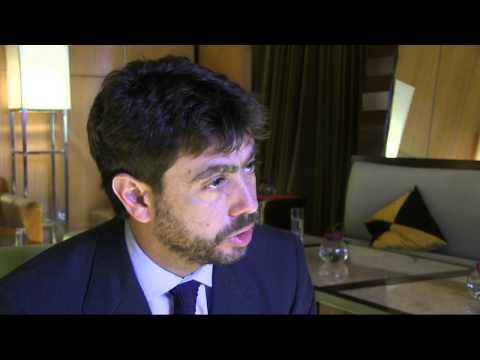 Juventus FC's president Andrea Agnelli, Aug 5, 2014