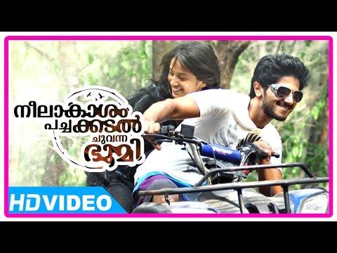 Neelakasham Pachakadal Chuvanna Bhoomi Malayalam Movie   Dulquer   Paloma Monappa   Surja Bala Hijam video