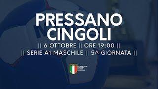 Serie A1M [5^ giornata]: Pressano - Cingoli 27-22