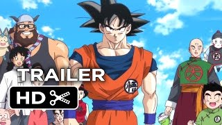 Dragon Ball Z: Battle of Gods - Dragon Ball Z: Battle of Gods Official US Release Trailer (2014) - Anime Action Movie HD