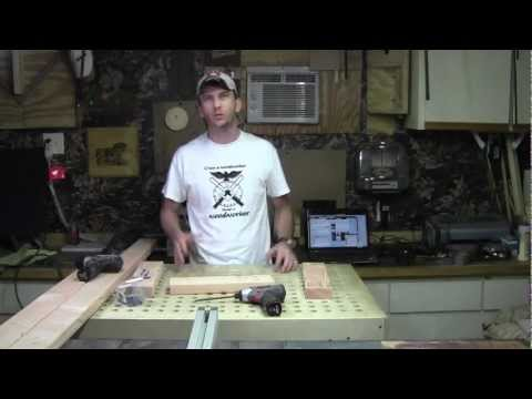 Make a Screen Printing Press Part 1