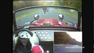 Caterham R500 Vs 996 GT2 - Nurburgring battle lap2