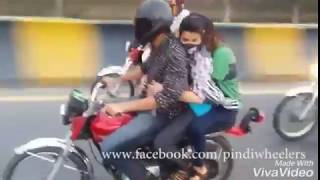 John King with girl | john king wheeling|john wheeler | one wheeling pakistan 2017