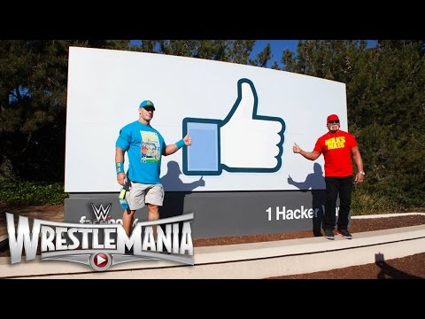 John Cena & Hulk Hogan take over the headquarters of Google, Twitter and Facebook