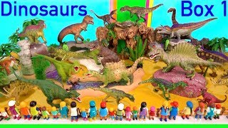 Dinosaur Box 1 - Fun Dinosaurs Toys For Kids - Learn Dinosaur Names and Sounds - Learn Colors