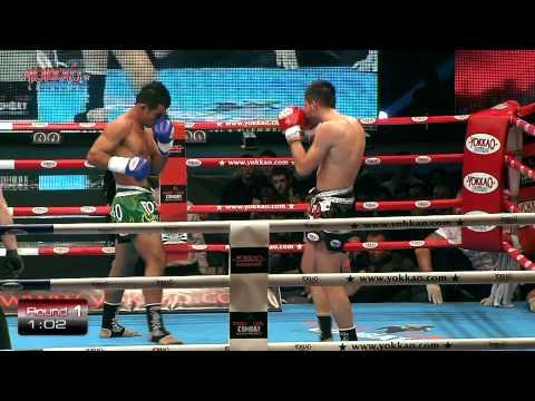 Ekapop Sor Klinmee Vs Esteban Maza  Yokkao Extreme 2012 Full-hd video