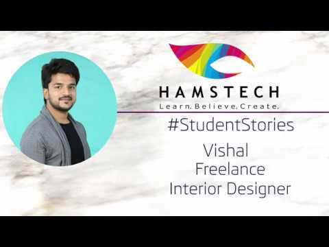 Hamstech's Interior Design student is now a confident professional