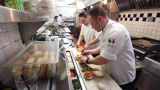 A Day In The Life With CHEF Andy Fawcett - Med Grill Restaurant