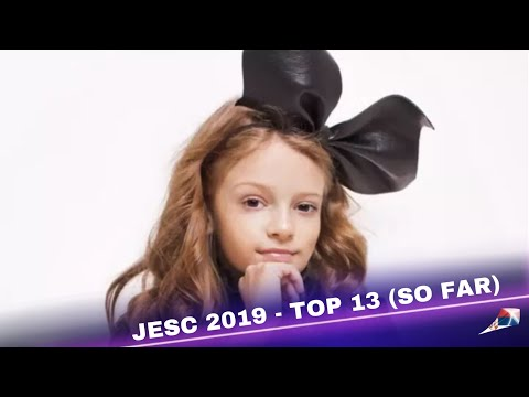Junior Eurovision 2019 - My Top 13 ( +