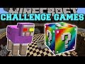 Lagu Minecraft:  MR. RAINBOW CHALLENGE GAMES - Lucky Block Mod - Modded Mini-Game