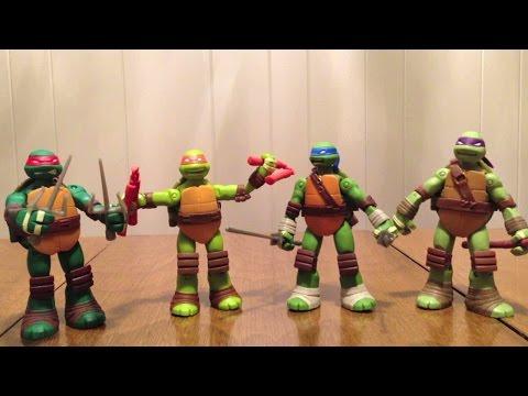 Teenage Mutant Ninja Turtles Battle Shell Turtles Review