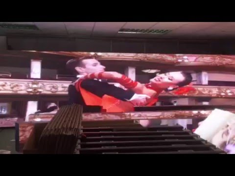 MPLED 37pcs 960x640mm P8 outdoor advertising led display export to thailand