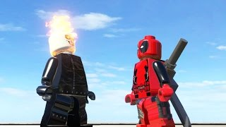 Deadpool Vs Ghost Rider ( BATTLE ) - LEGO MARVEL Super Heroes