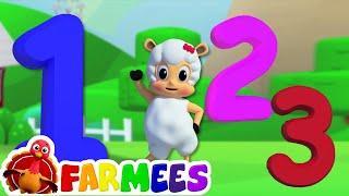 Con số bài hát 1-10 | 3D Hoạt hình cho trẻ em | 123 Rhyme For Kids | Learn Numbers | Numbers Song